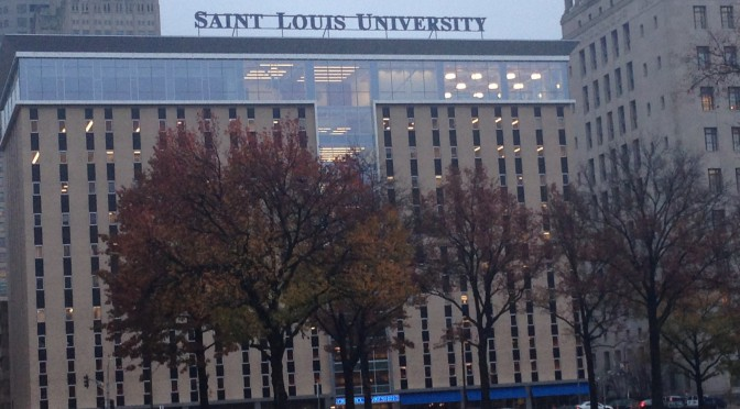 SLU Law School Neon