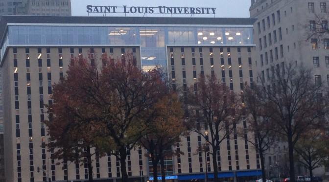 SLU Law School Neon