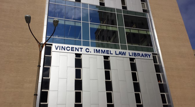 Immel Law Library at SLU Law School