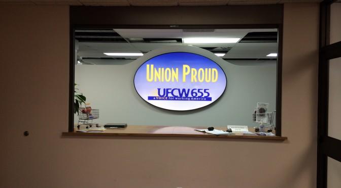 UFCW 655 Interior Signage