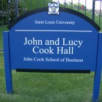 New Sign - Cook Hall