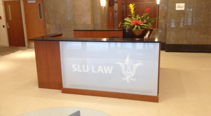 SLU Law School Interior