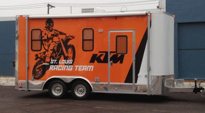 KTM Racing Trailer